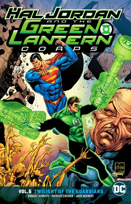 Hal Jordan and the Green Lantern Corps: Twilight of the Guardians (Collected)
