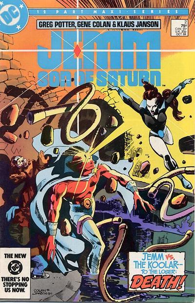 Jemm, Son of Saturn Vol 1 2