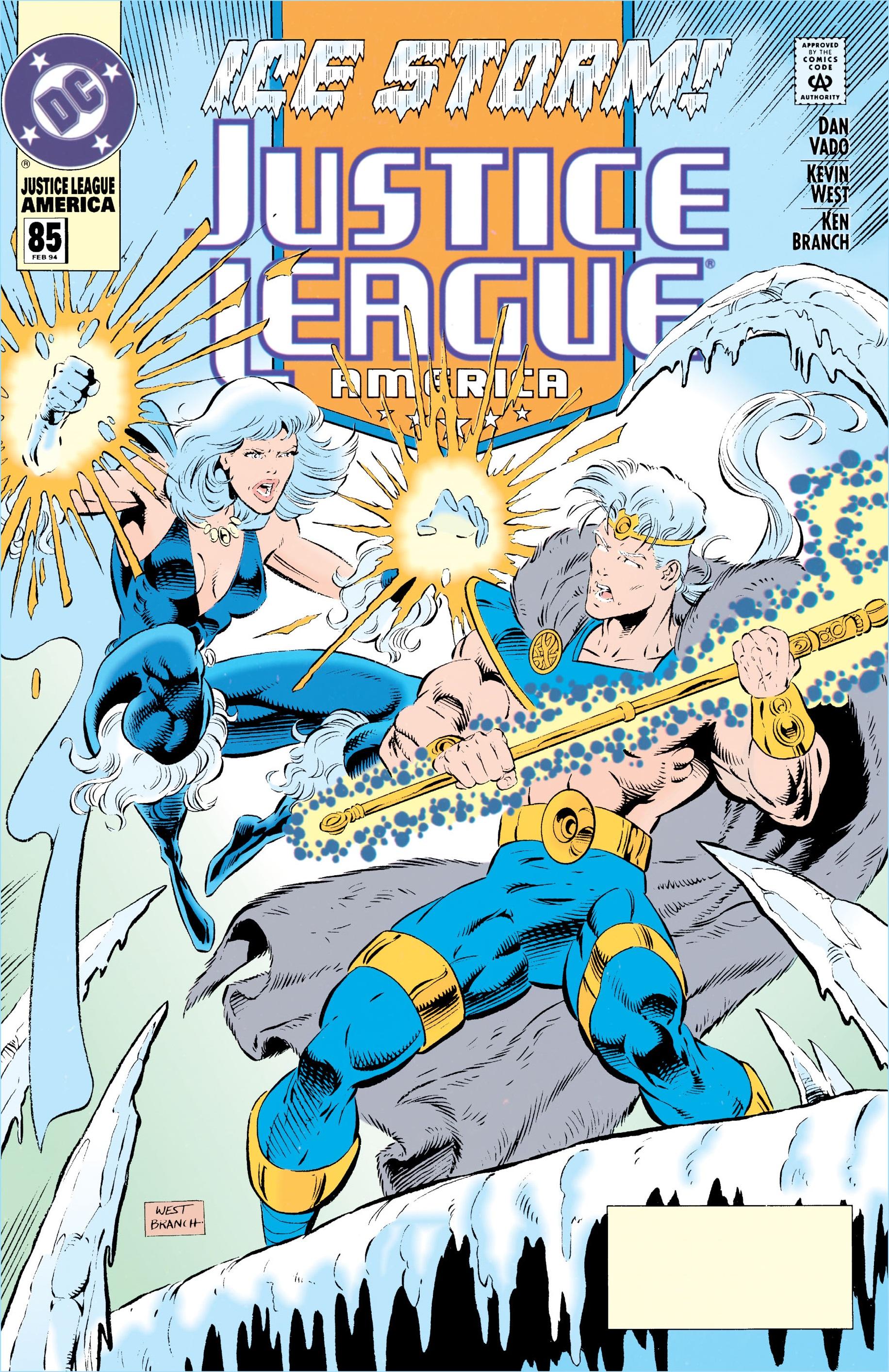 Justice League America Vol 1 85