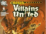 Infinite Crisis Special: Villains United Vol 1 1