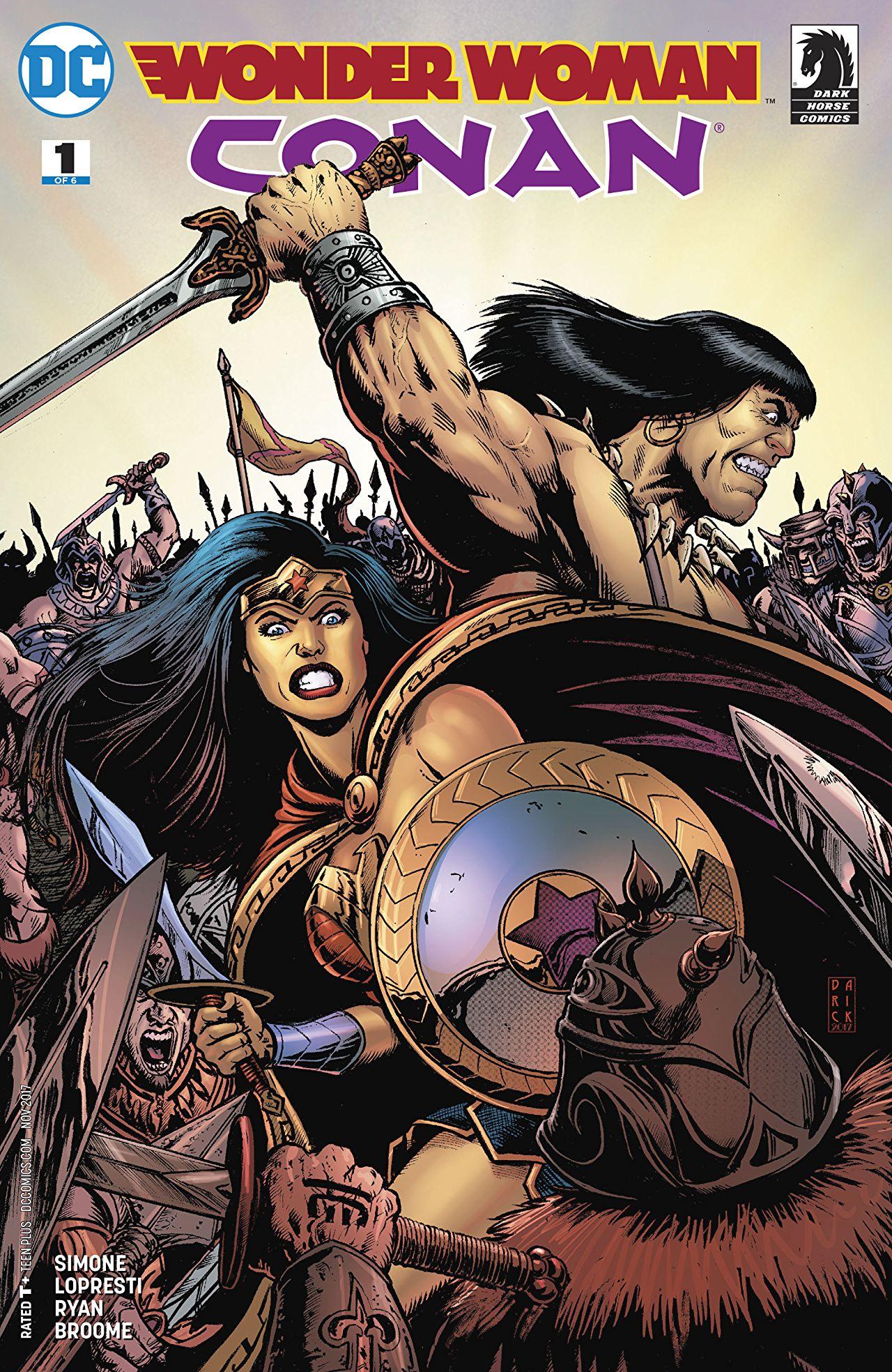 Wonder Woman/Conan Vol 1