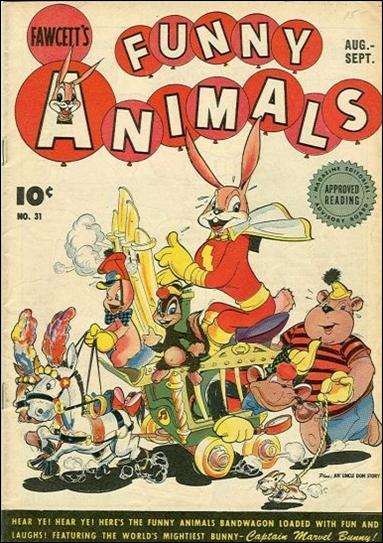 Fawcett's Funny Animals Vol 1 31