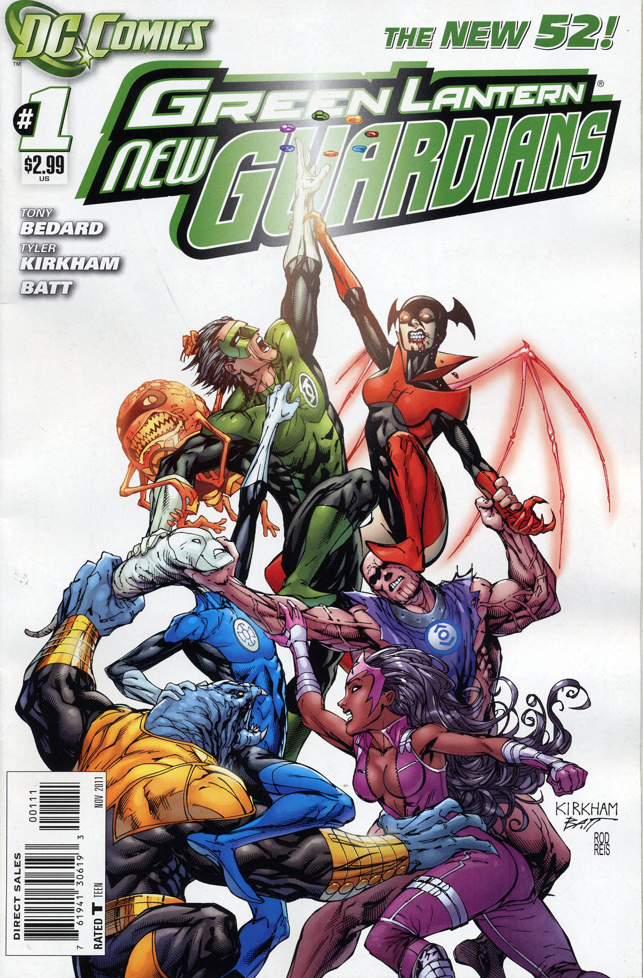 Green Lantern: New Guardians Vol 1 1