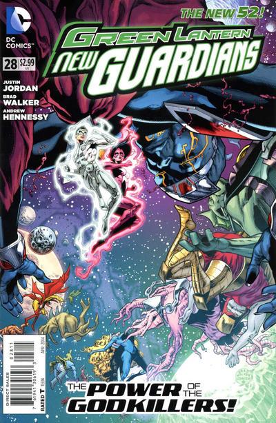 Green Lantern: New Guardians Vol 1 28