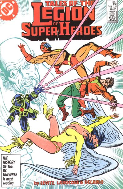 Legion of Super-Heroes Vol 2 347