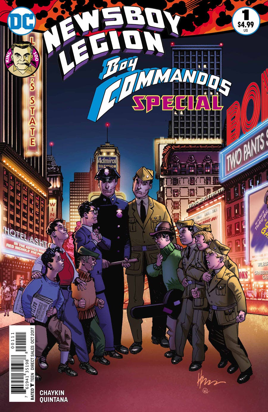 Newsboy Legion/Boy Commandos Special Vol 1 1