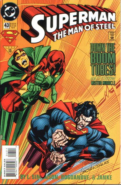 Superman: The Man of Steel Vol 1 43