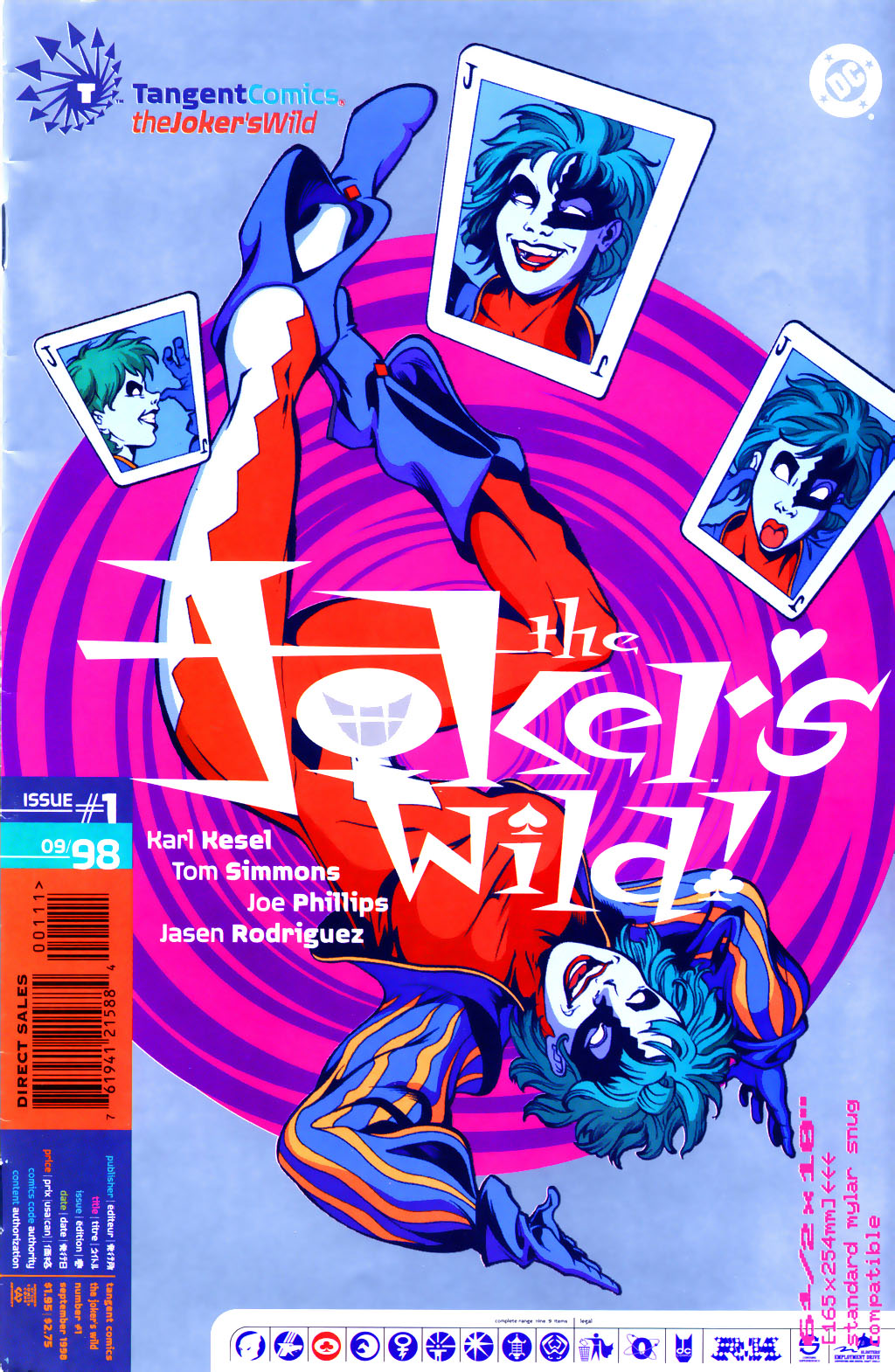 Tangent Comics: The Joker's Wild Vol 1 1