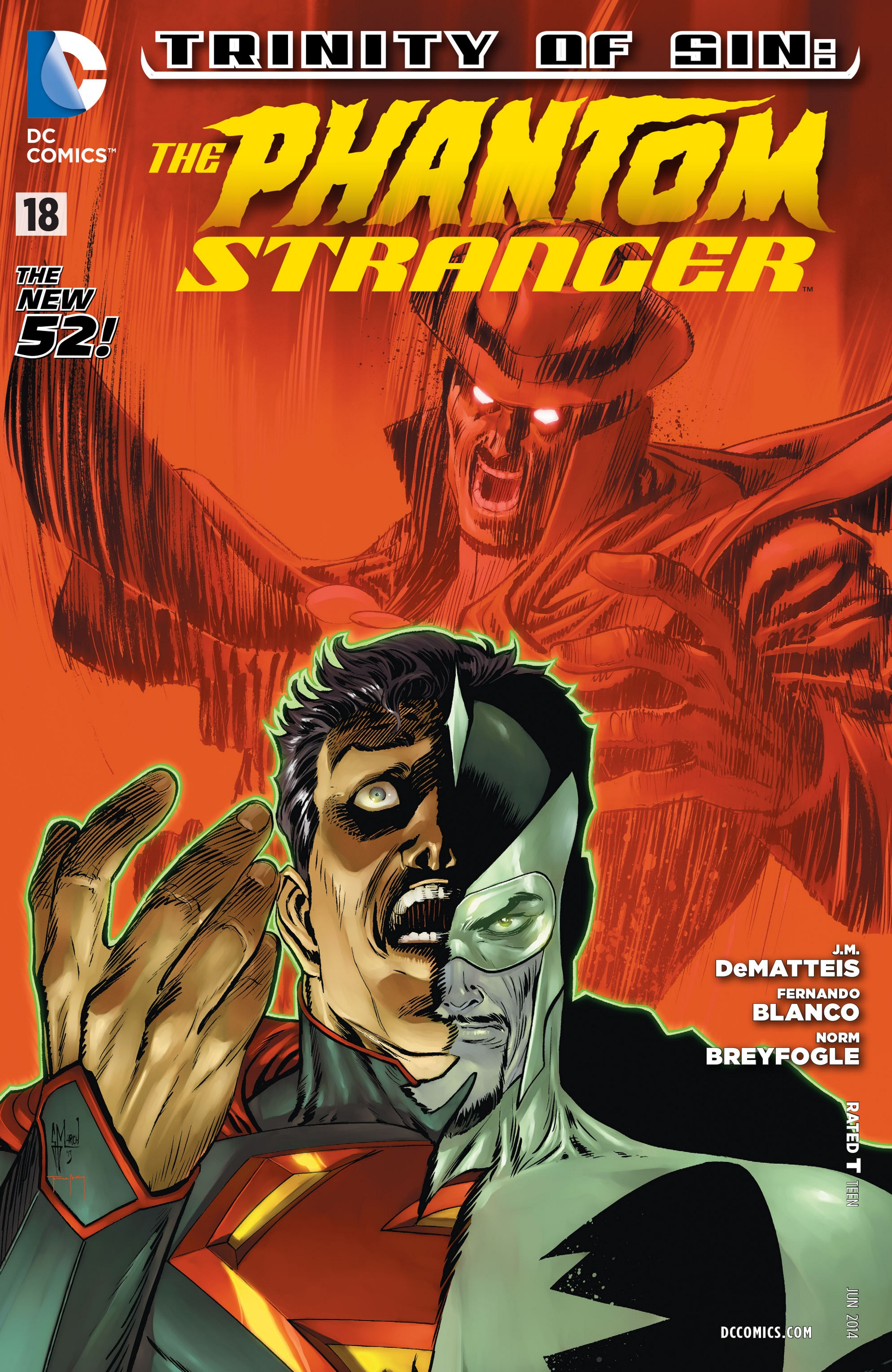 Trinity of Sin: The Phantom Stranger Vol 1 18