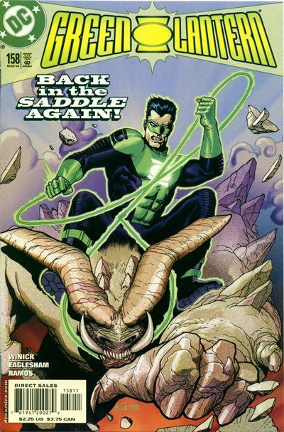 Green Lantern Vol 3 158