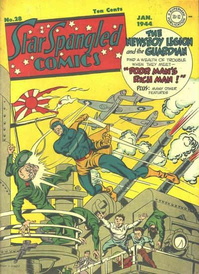 Star-Spangled Comics Vol 1 28