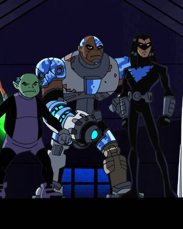 Teen Titans (TV Series) Episode How Long Is Forever.JPG