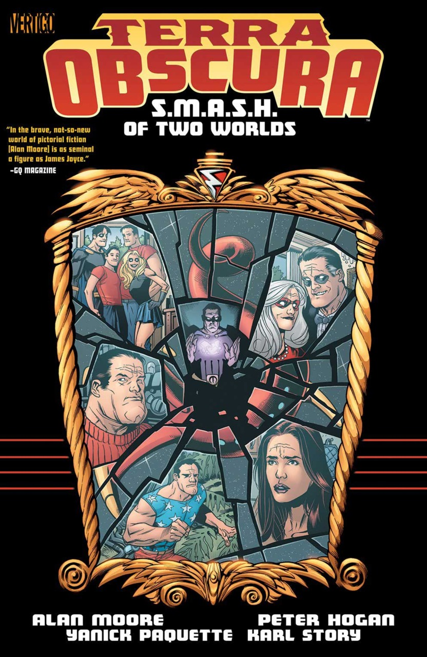 Terra Obscura: S.M.A.S.H. of Two Worlds (Collected)
