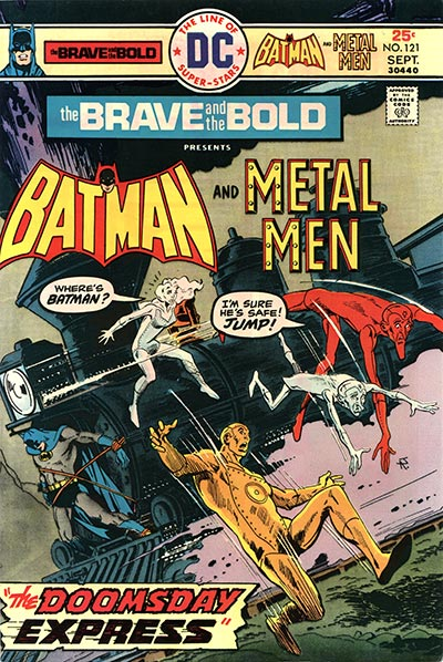 The Brave and the Bold Vol 1 121