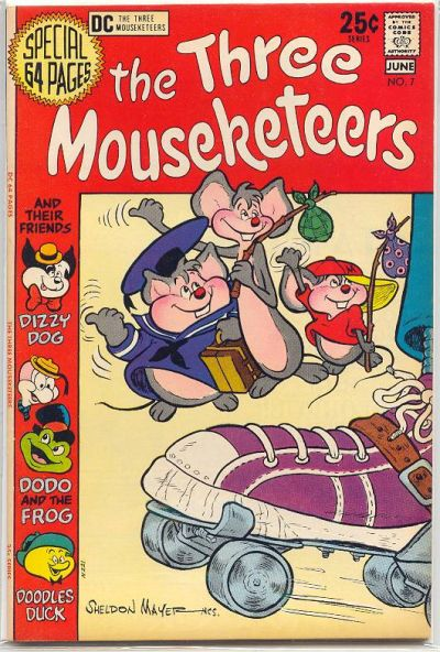 The Three Mouseketeers Vol 2 7