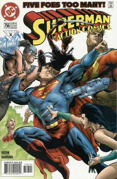 Action Comics Vol 1 756
