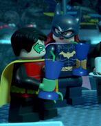 Batgirl and Robin (Lego DC Heroes) 01