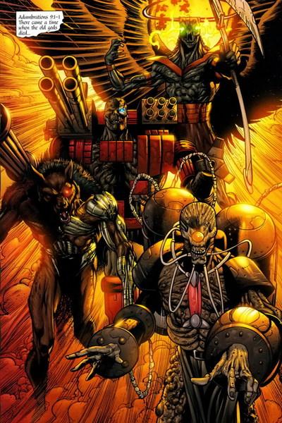 Four Horsemen of Apokolips (New Earth)