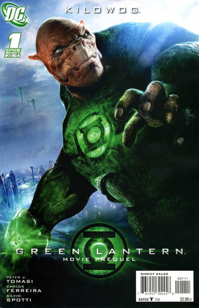 Green Lantern Movie Prequel: Kilowog Vol 1 1