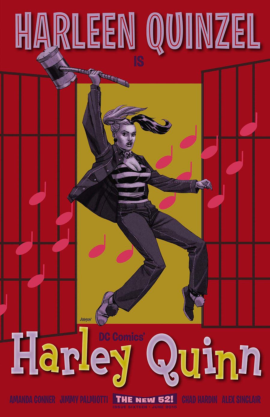Harley Quinn Vol 2 16 Movie Poster Variant.jpg
