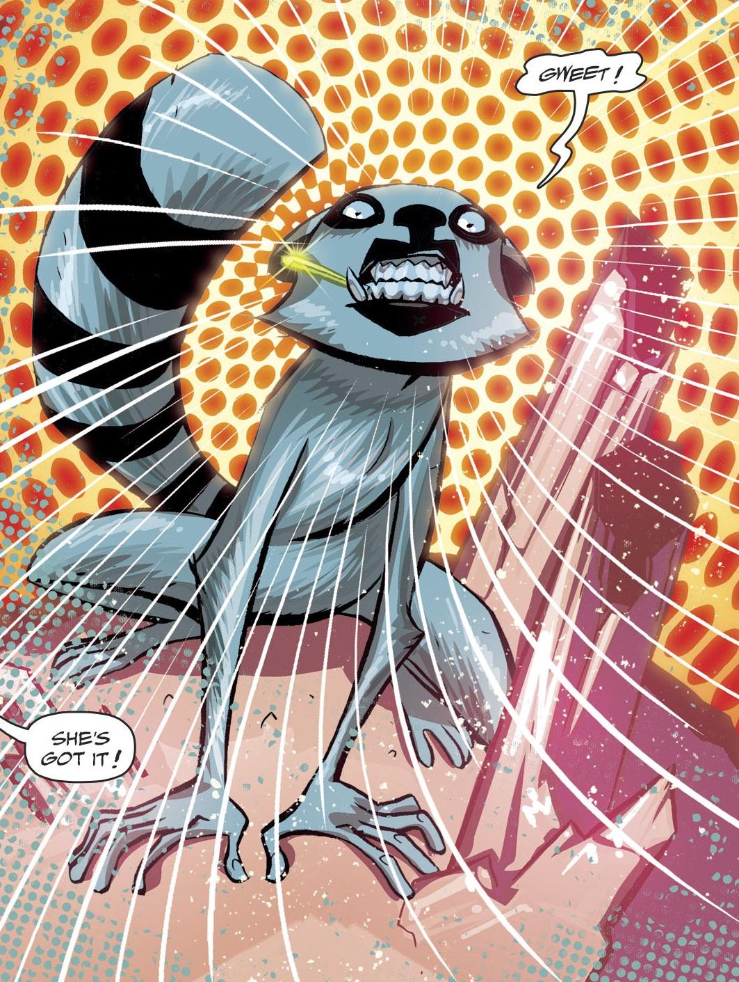 Lena the Lemur (Prime Earth)