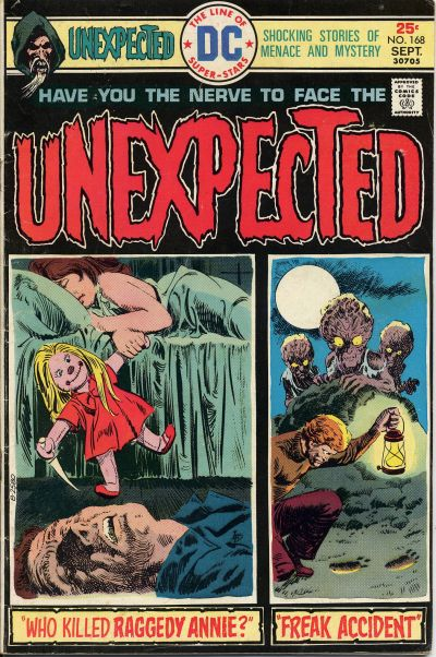 The Unexpected Vol 1 168