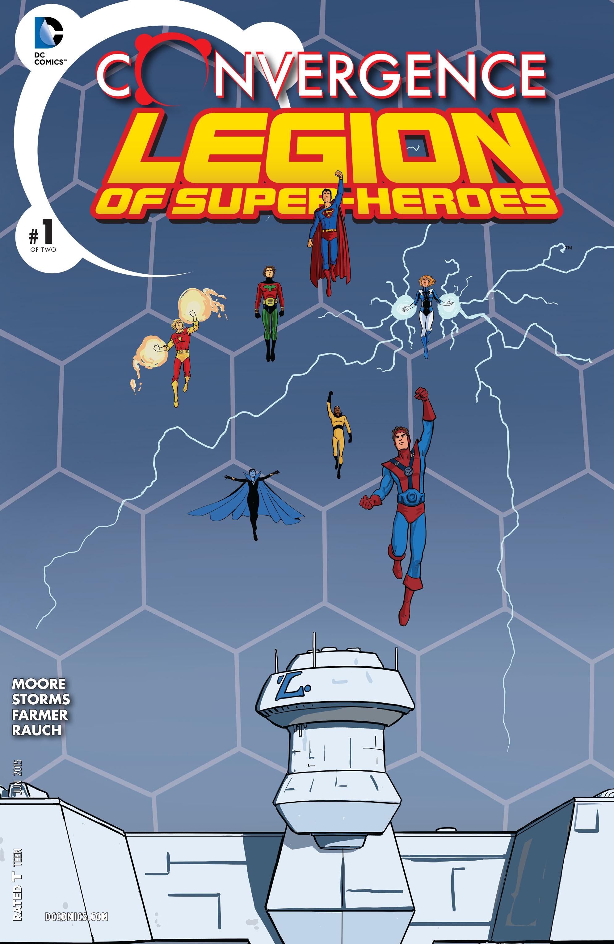 Convergence: Superboy and the Legion of Super-Heroes Vol 1