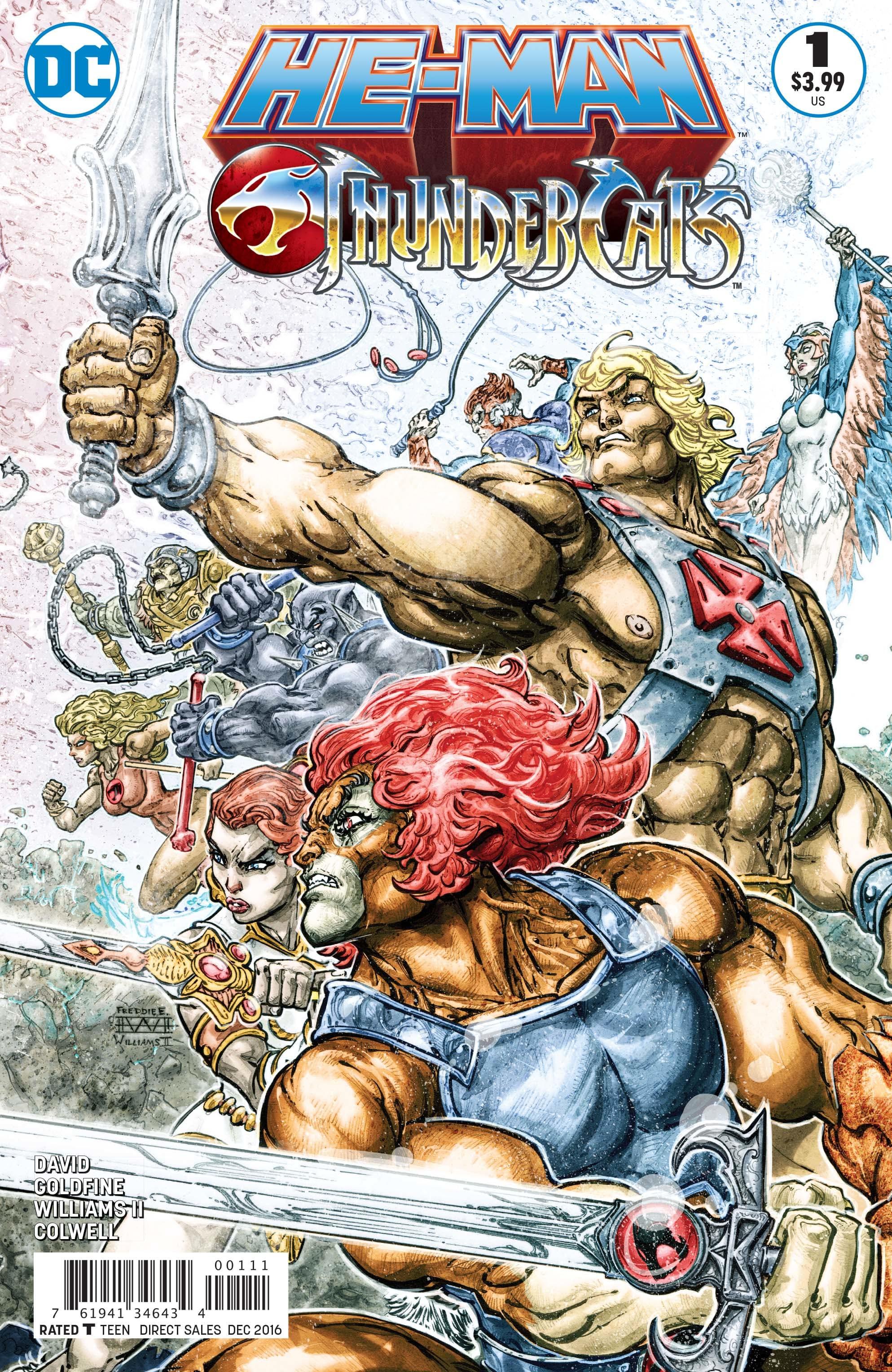 He-Man/Thundercats Vol 1 1