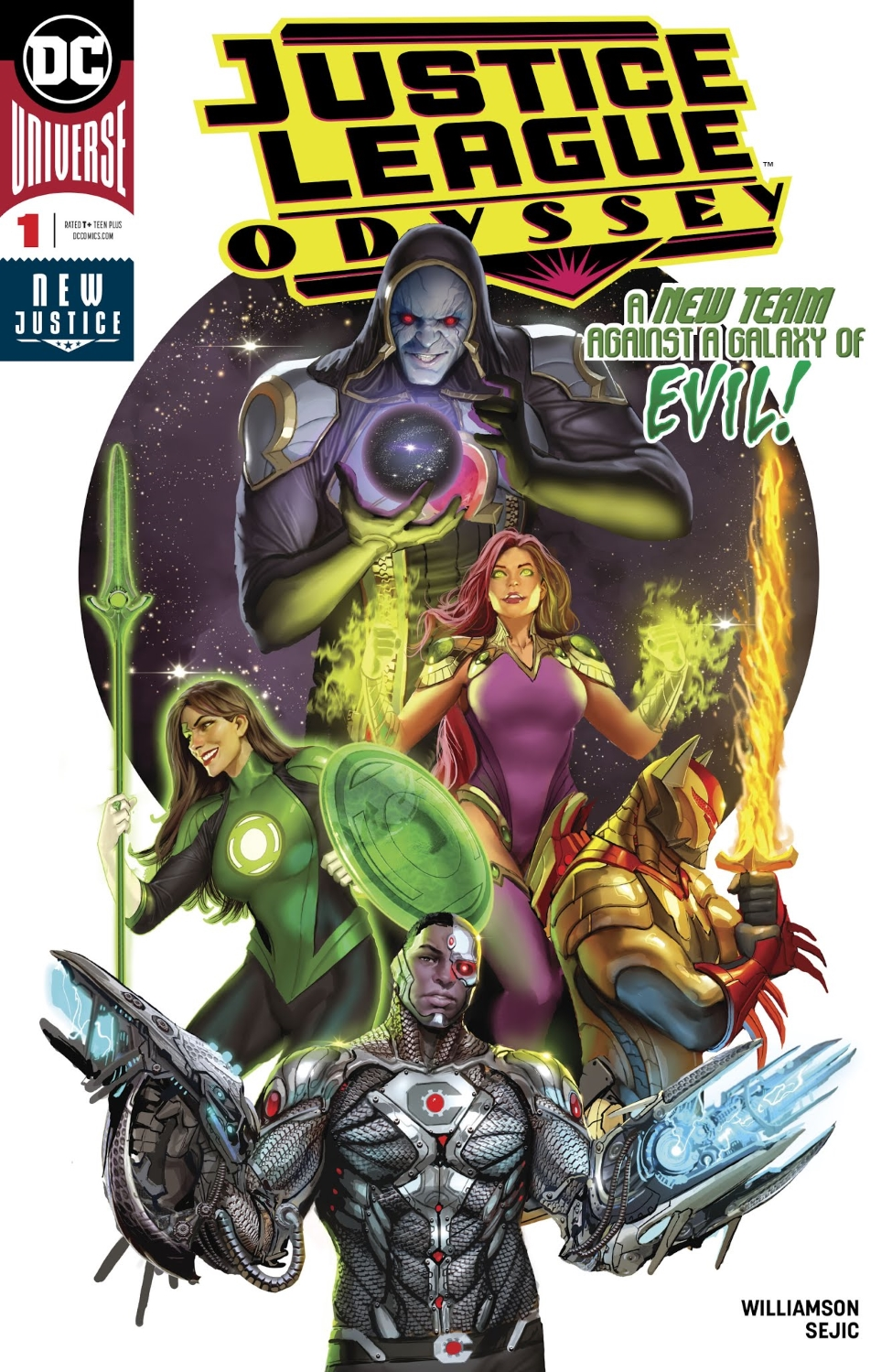 Justice League Odyssey Vol 1 1