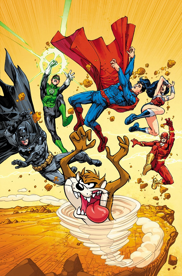 Justice League of America Vol 4 5 Textless Looney Tunes Variant.jpg