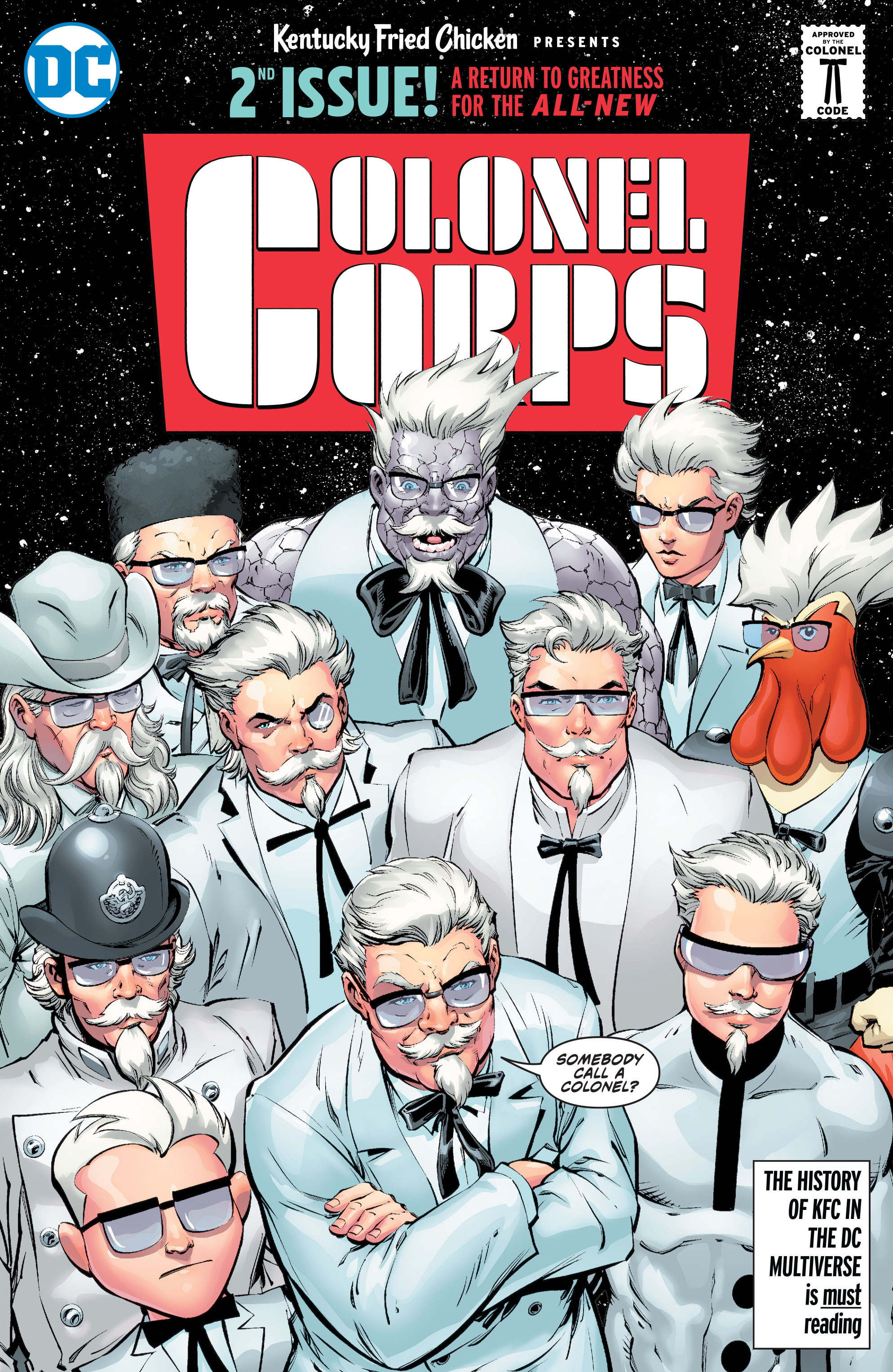 KFC: Crisis of Infinite Colonels Vol 1 1