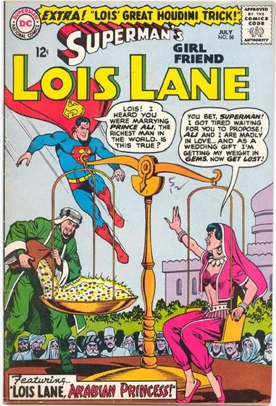 Superman's Girl Friend, Lois Lane Vol 1 58