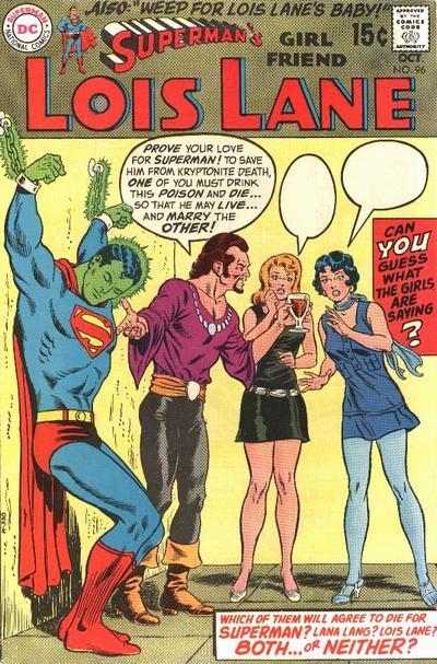 Superman's Girl Friend, Lois Lane Vol 1 96