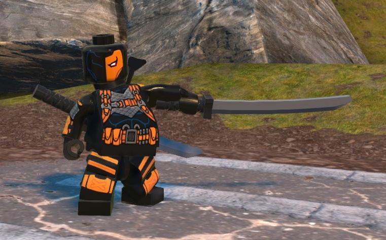 Slade Wilson (Lego Batman)