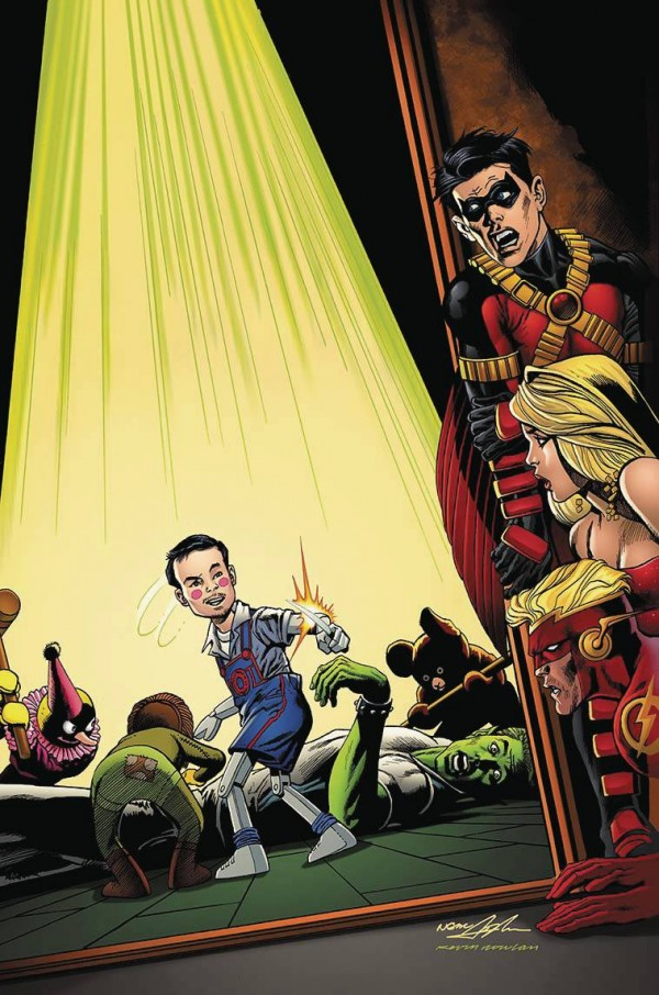 Teen Titans Vol 5 17 Textless Neal Adams Variant.jpg