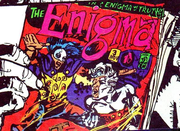 Enigma Comic Book
