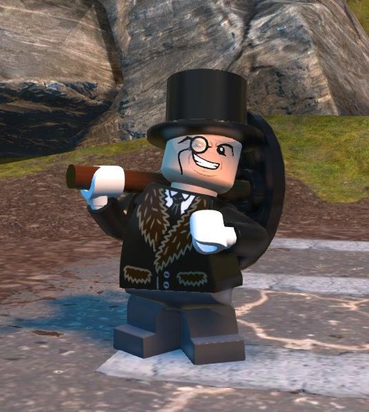 Oswald Cobblepot (Lego Batman)