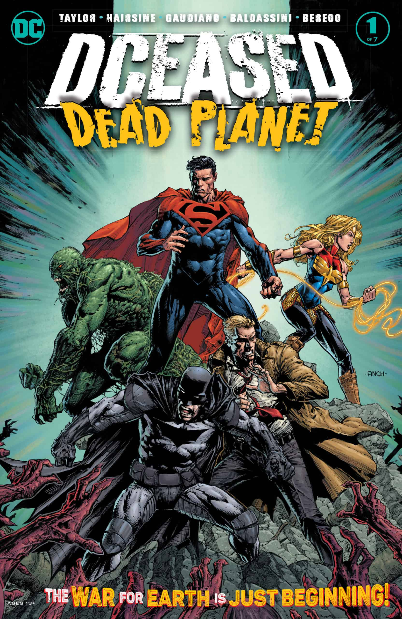 DCeased: Dead Planet Vol 1 1