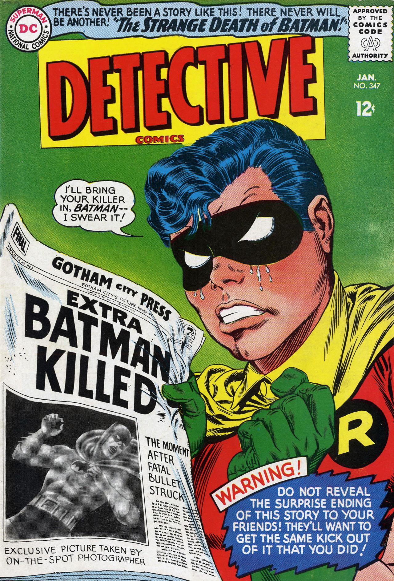 Detective Comics Vol 1 347