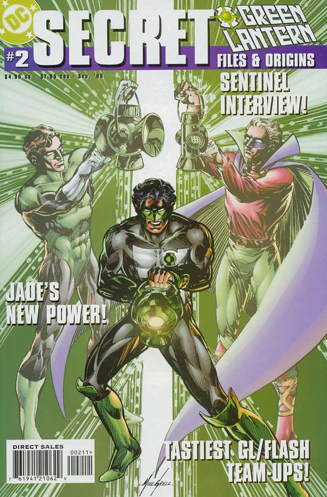 Green Lantern Secret Files and Origins Vol 1 2