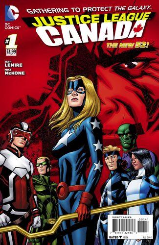 Justice League Canada Variant