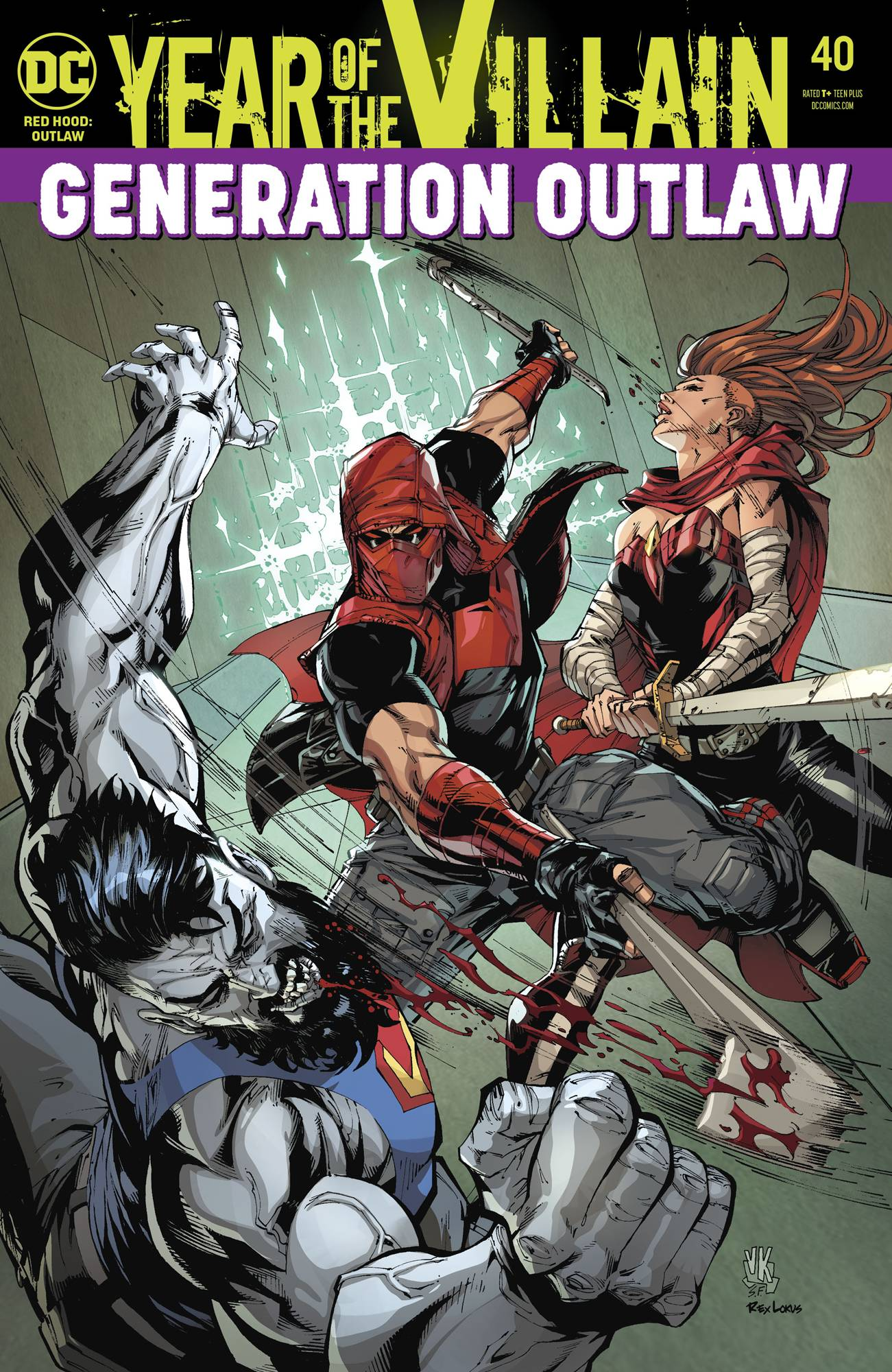 Red Hood: Outlaw Vol 1 40