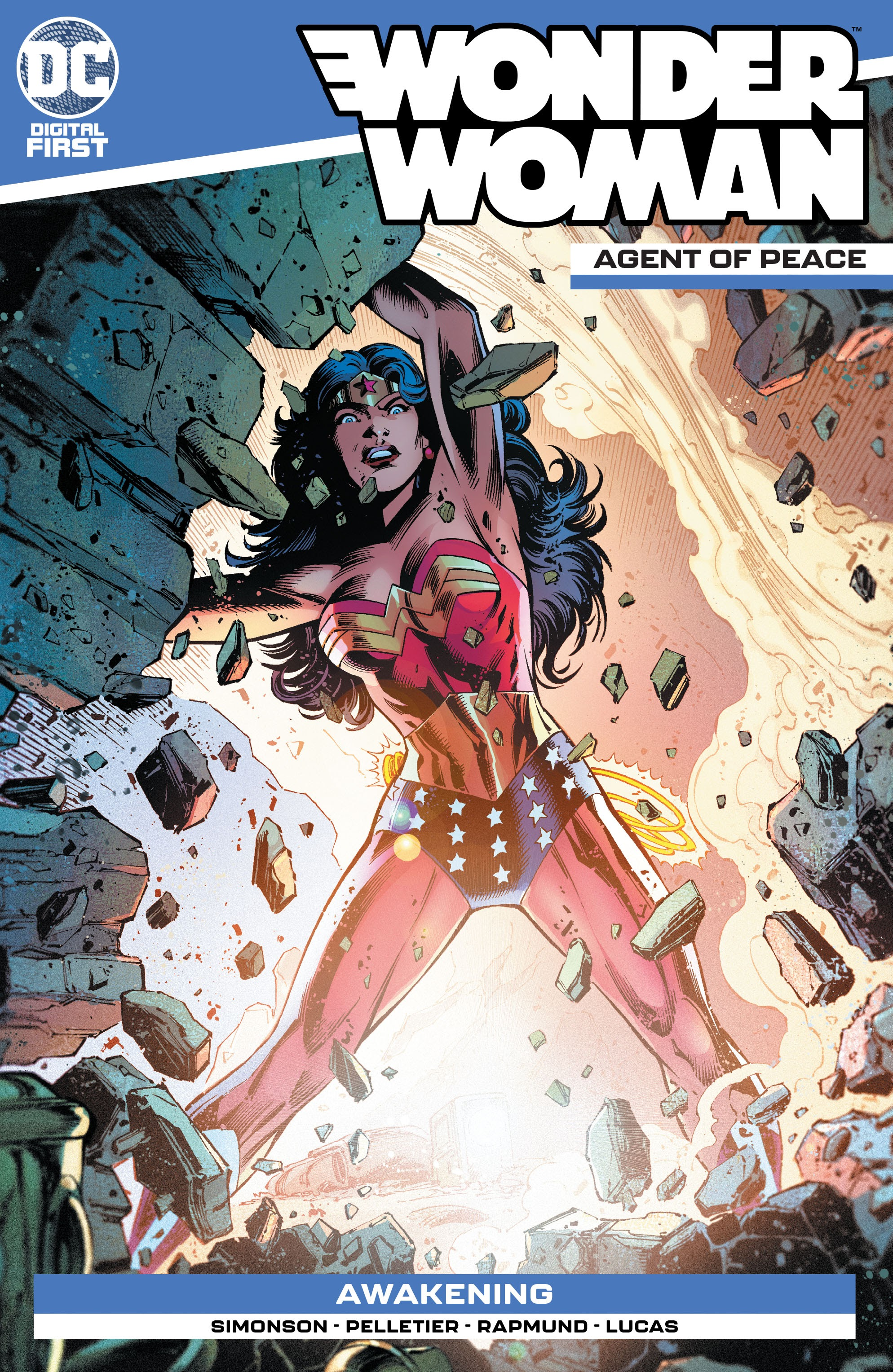 Wonder Woman: Agent of Peace Vol 1 8 (Digital)