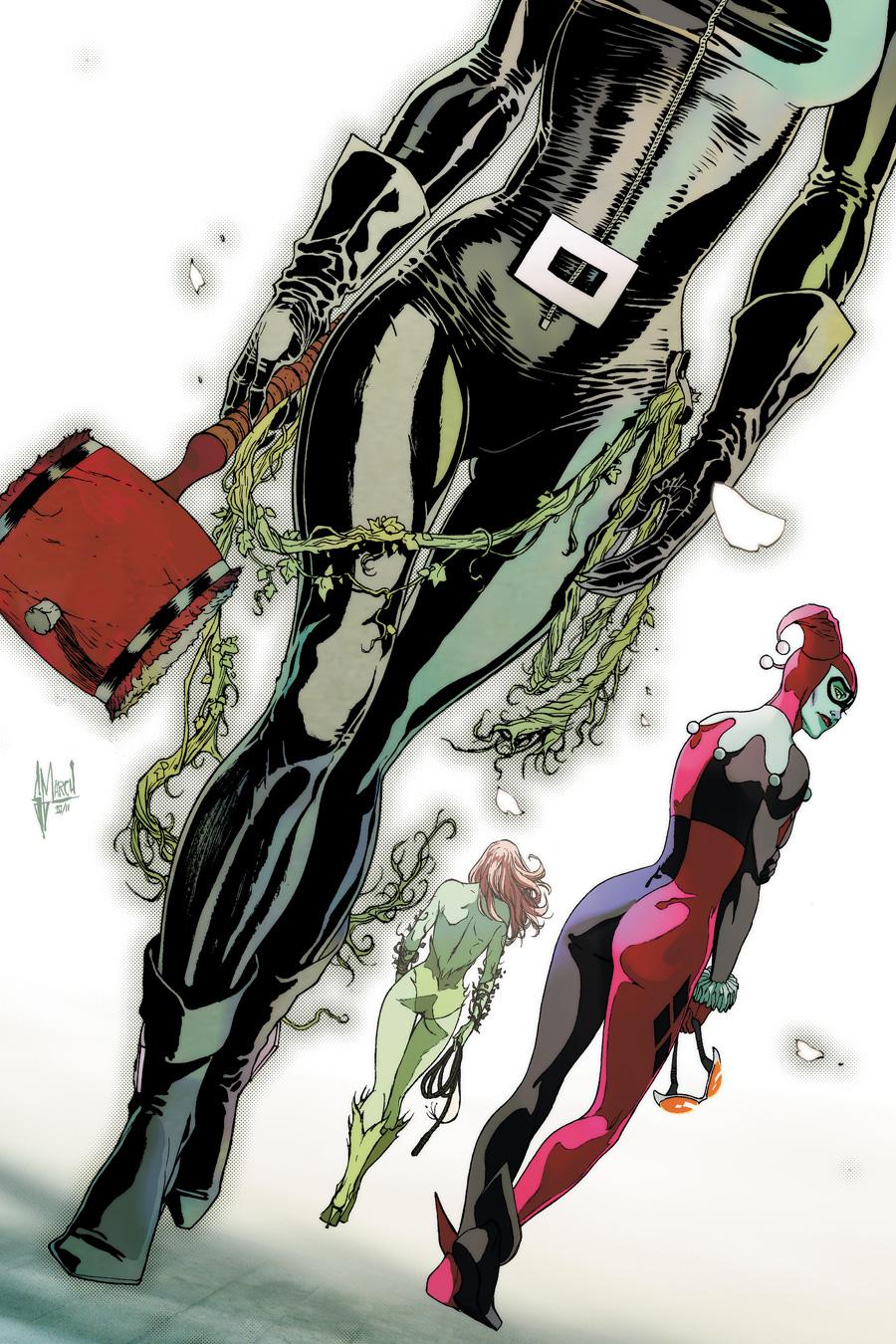 Gotham City Sirens Vol 1 26 Textless.jpg