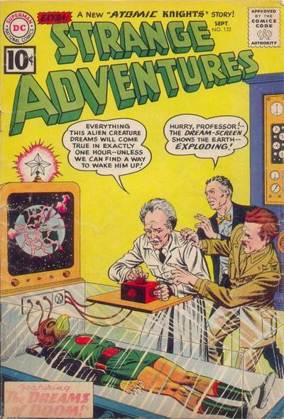 Strange Adventures Vol 1 132
