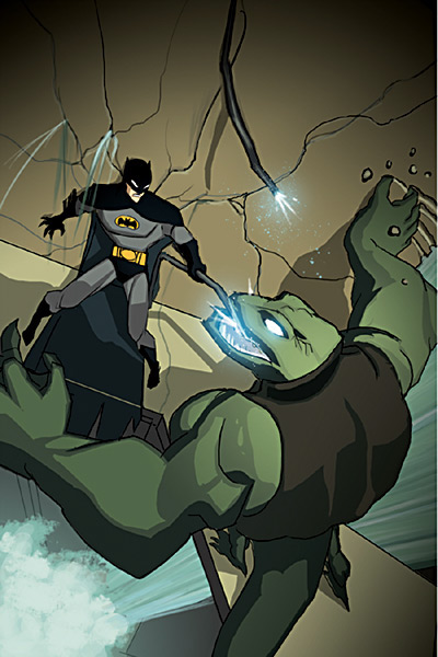 The Batman Strikes! Vol 1 25 Solicit.jpg