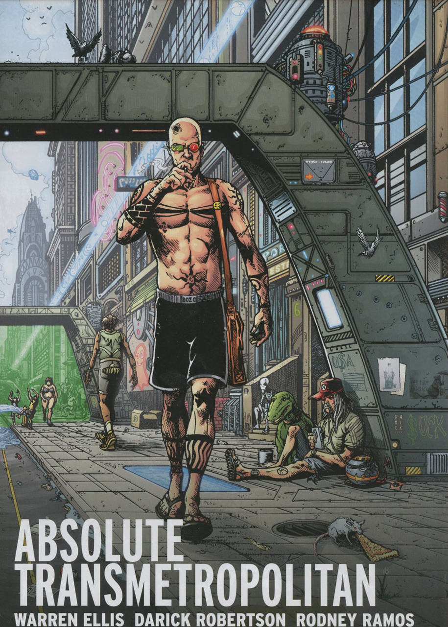 Absolute Transmetropolitan Vol. 2 (Collected)
