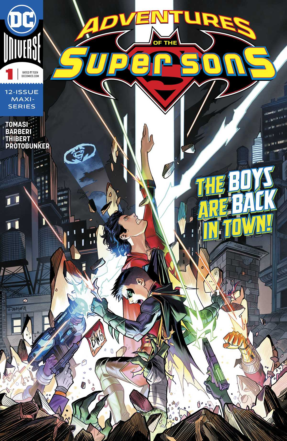 Adventures of the Super Sons Vol 1