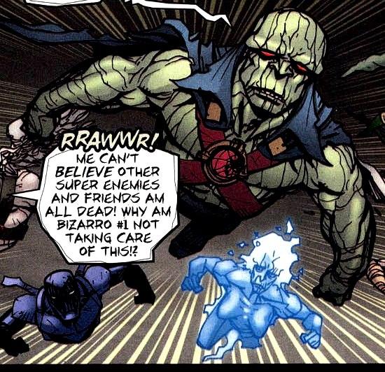 Bizarro Martian Manhunter