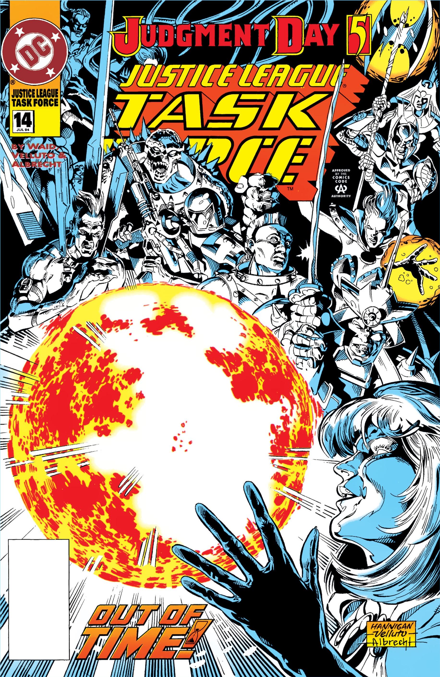 Justice League Task Force Vol 1 14